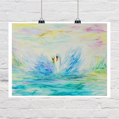 """Peaceful Feeling"" Original Painting"