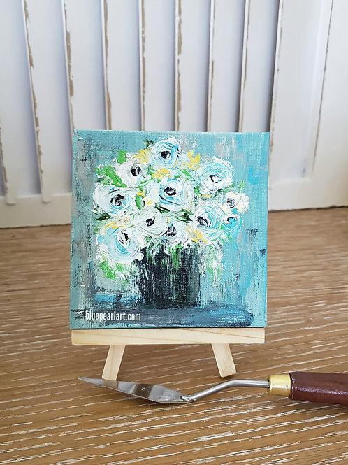 Floral acrylics littles