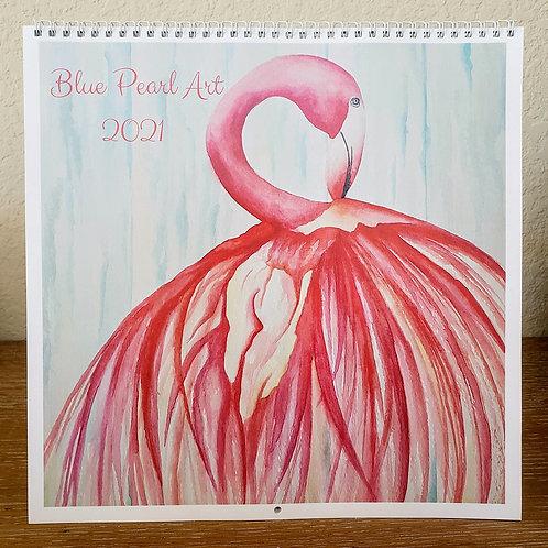 All Flamingo 2021 Calendar