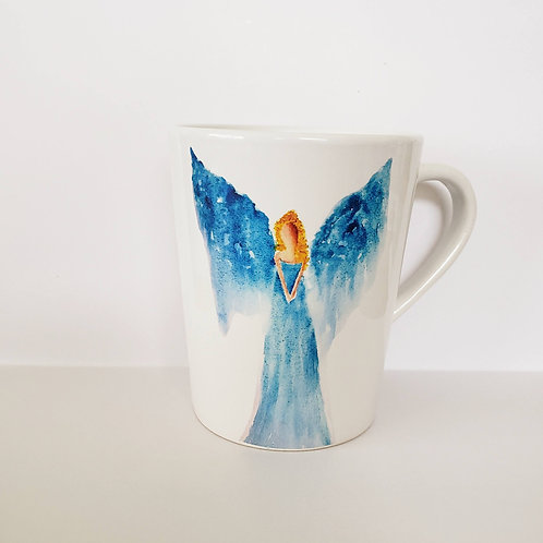 Light Blue Angel mug