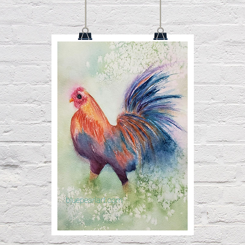 Rooster Painting Tutorial