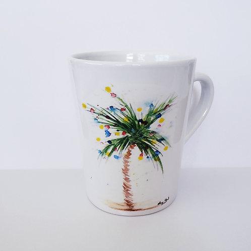 Christmas Palm Mug