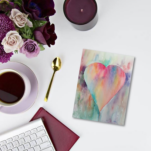 A Heart Full of Love Note Card & Greeting Card