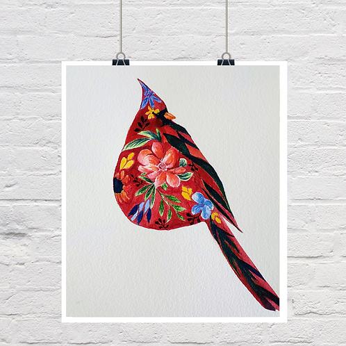 Floral Cardinal