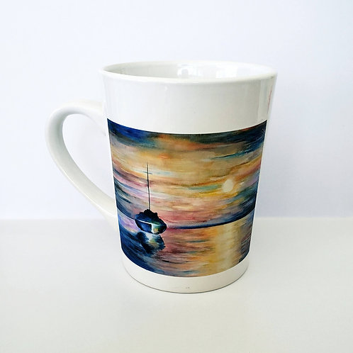 Sailboat Sunset Mug