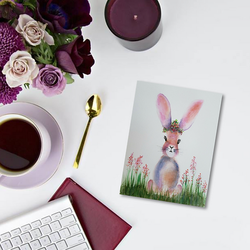 Mildred Note Card & Greeting Card
