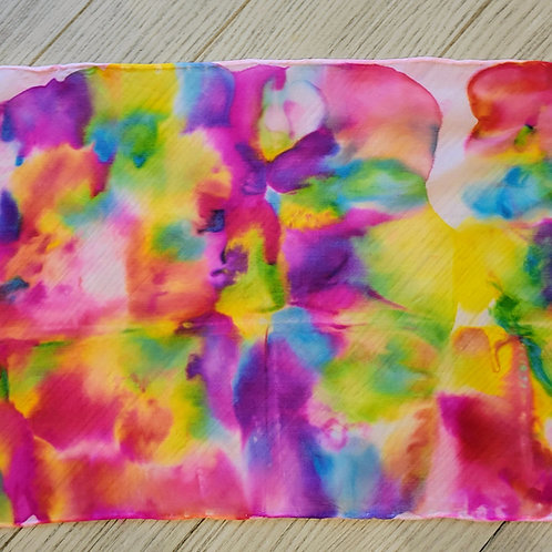 Full of Color Silk Scarf