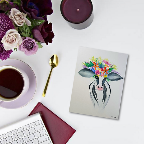 Pearl Note Card & Greeting Card