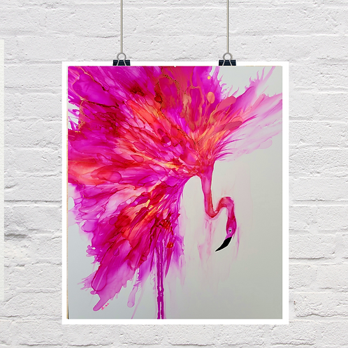 """Art prints of """"All The Fluff"""""""