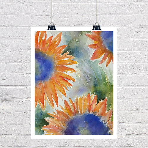Sunflowers In Bloom (SOLD)