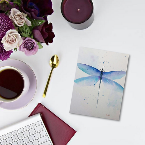 Dragonfly Note Card & Greeting Card
