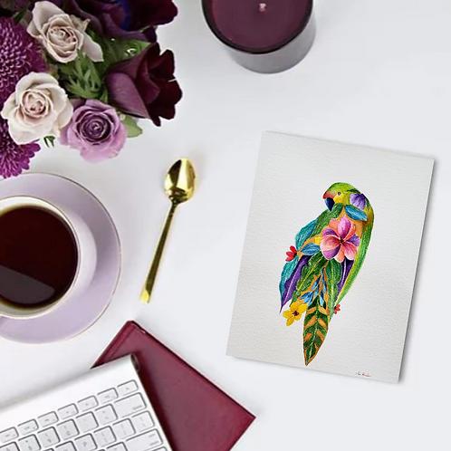 Floral Parrot