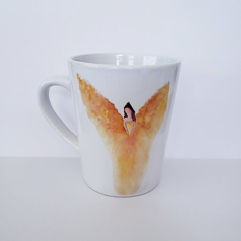Yellow Angel Mug