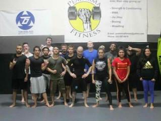 Peak MMA & Fitness NoGi grappling class