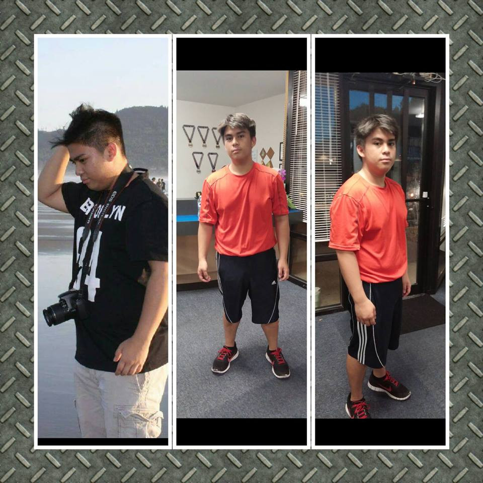 teen weight loss journey, strength&conditioning,MMA