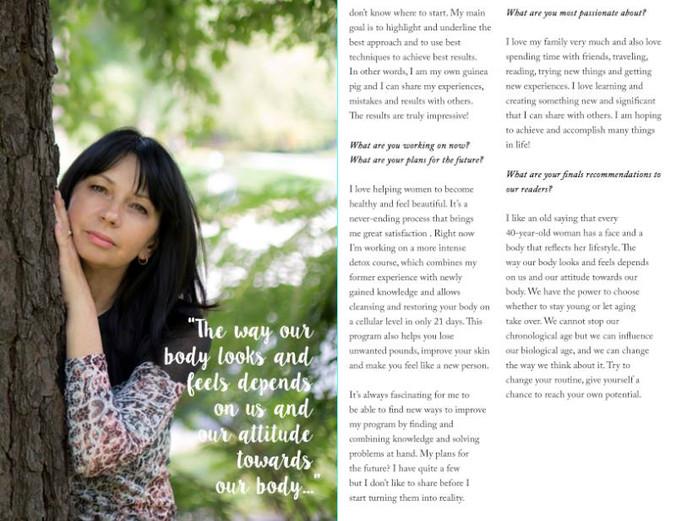 Интервью в журнале Simpliсity