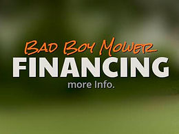Bad Boy Mowers Financing