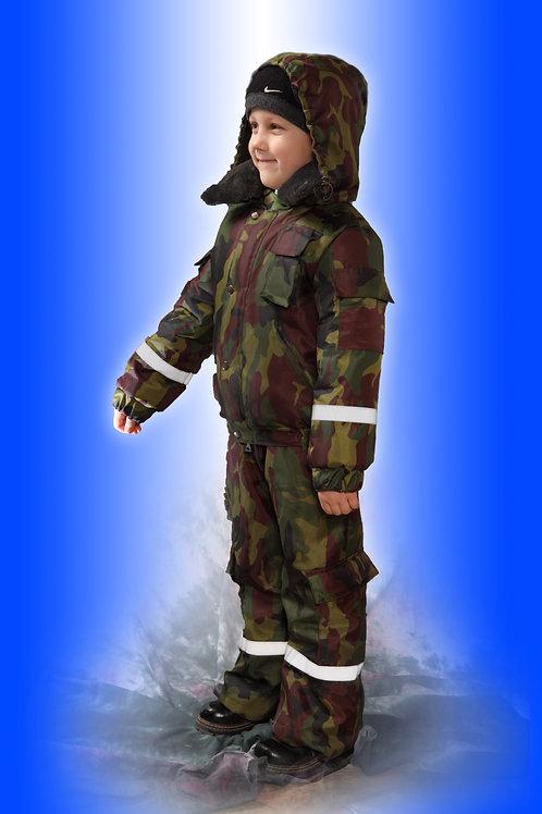 Костюм для мальчика «Спецназ» зимний