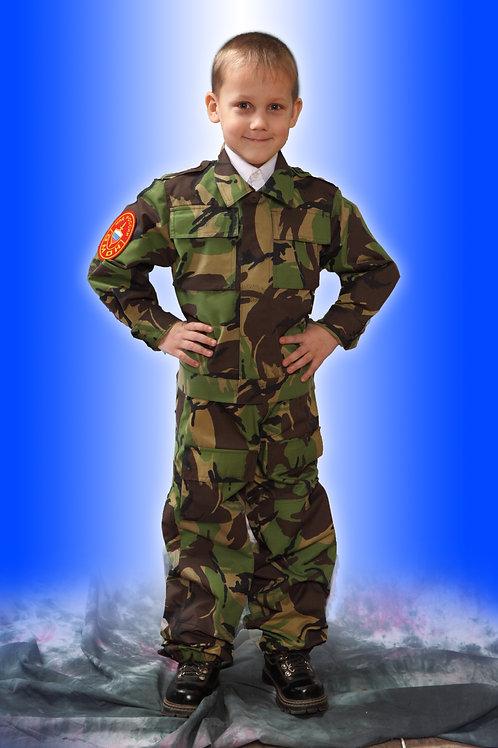 Костюм для мальчика «Спецназ» летний