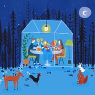 Illustrations for polkadot design