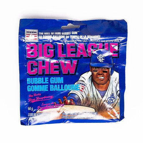 Gomme big league chew framboise bleu