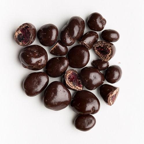 Canneberge au chocolat noir