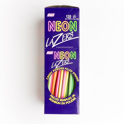 Paille néon