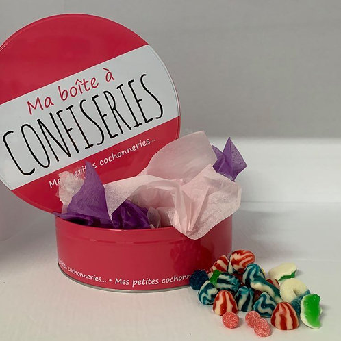 Ma boîte à confiseries