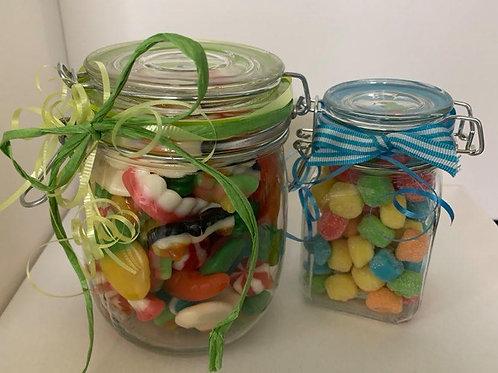 Pot de bonbon refermable