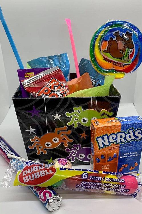 Boite de bonbon Halloween