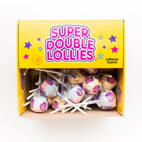 Super double lollies