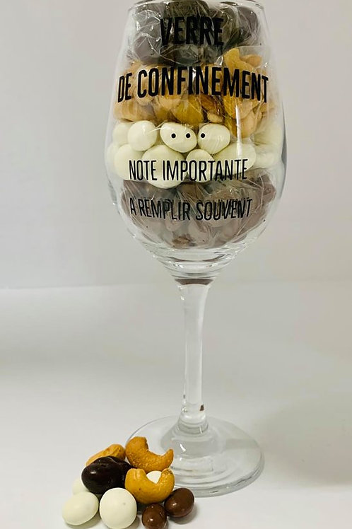 Coupe de confinement choco-noix