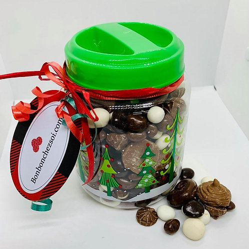 Pot de mélange chocolaté