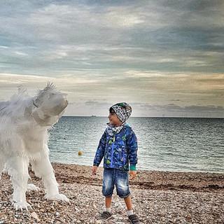 The Polar Bear by Roy Kelf