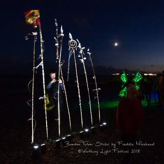 Bamboo Totem by Freddie Moorhead
