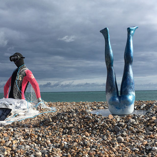 Bob (on the left) by Nessy Breen and Nadia Chalk