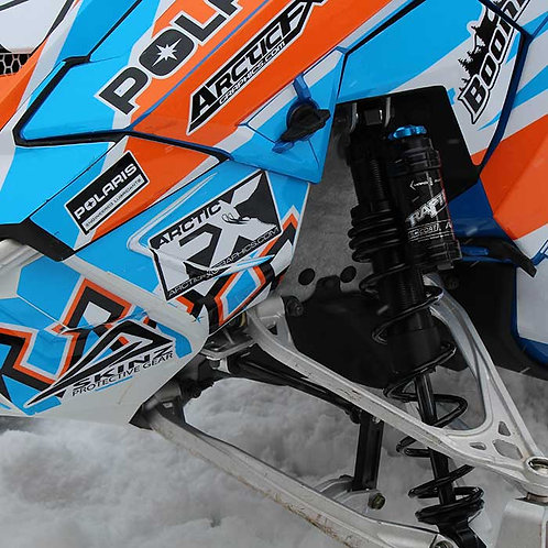 2016-2018 POLARIS PRO RMK / AXYS CHASSIS COIL OVER SKI SHOCK SET