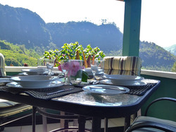 Alfresco Dining at the Gatehouse
