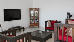 Relax in the TV room