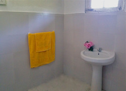 Separate hotwater shower room