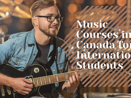 Music Courses in Canada for International Students
