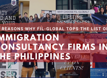 10 Reasons Why Fil-Global Tops the List of Immigration Consultancy Firms in the Philippines