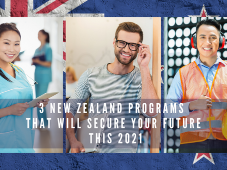3 New Zealand Programs That Will Secure Your Future This 2021