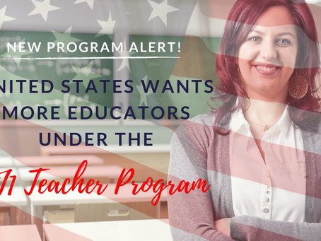 New Program Alert! United States Wants More Educators Under the J1 Teacher Program