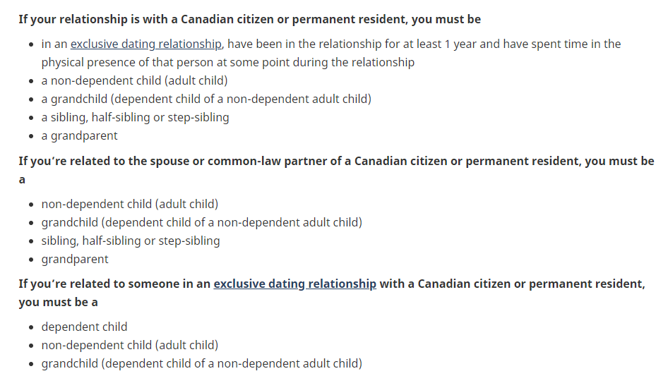 Canada COVID-19 Citizens PRs Apply Unification Family