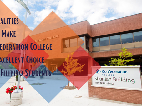 5 Qualities That Make Confederation College an Excellent Choice for Filipino Students