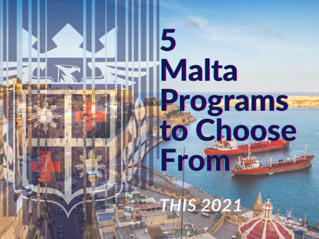 5 Malta Programs to Choose From This 2021