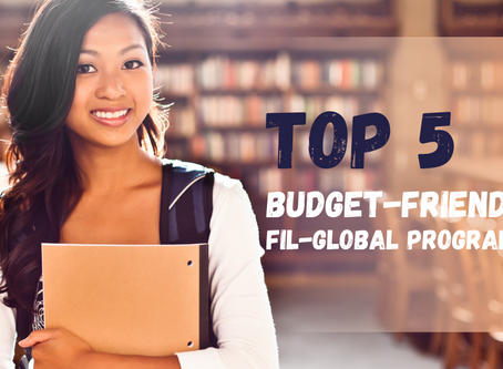 Top 5 Budget-Friendly Fil-Global Programs