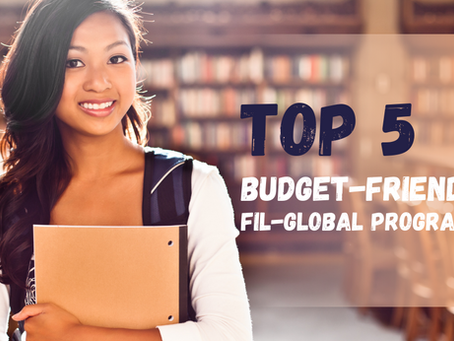 Top 5 Budget-Friendly Fil-Global Programs