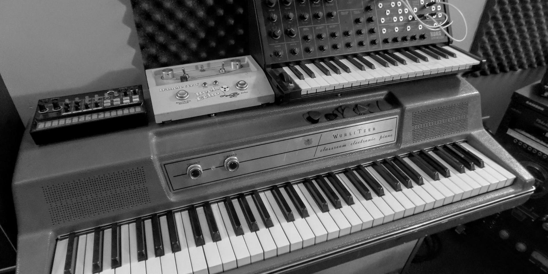 More studio gear